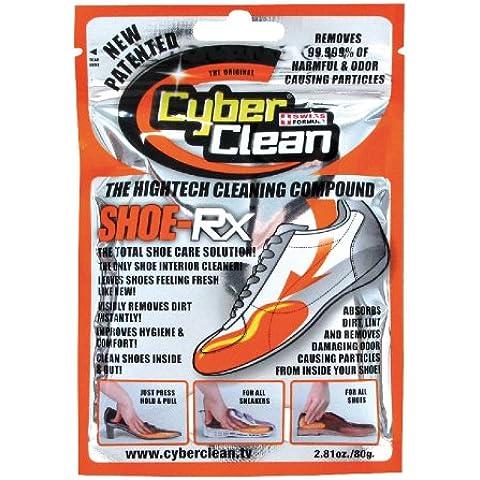 Cyber Clean Orange Ziplock Bag Shoe Cleaning