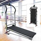GOTOTO Tapis de Course Pliable Machine de Marche Fitness, Conception Professionnelle d'absorption des Chocs, Silencieux, Idéal...