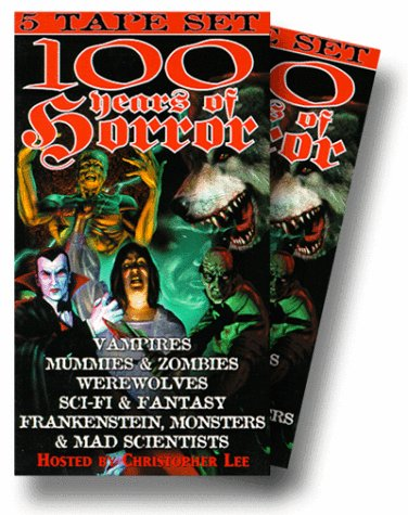 Preisvergleich Produktbild 100 Years of Horror 5-Tape Set [VHS]