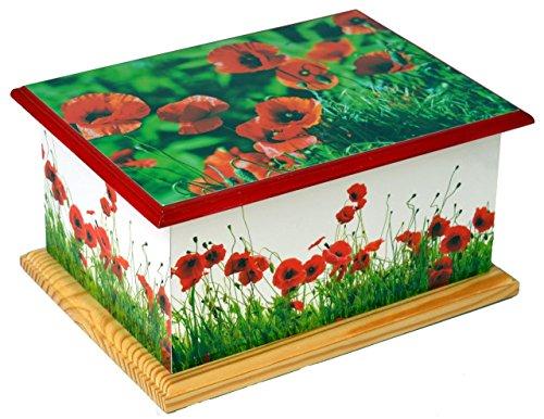 wooden-cremation-ashes-casket-urn-mdf-and-teakwood-urn-funeral-memorial-burial-remembrance-urn-poppy