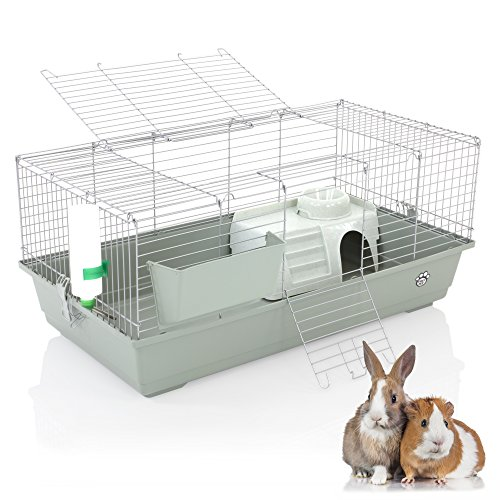 Cozy Pet Rabbit/Guinea Pig Indoor Cage 100cm suitable for Rat, Chinchilla and other Small Animals Hutch Model: RB100-S (We do not ship to NI, Scot Highlands & Islands Channel Islands IOM or IOW)