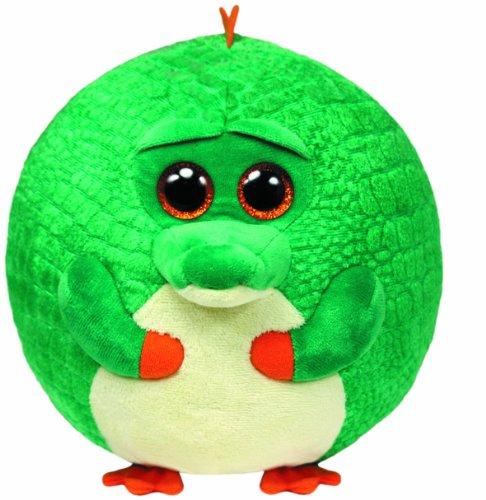 TY 38955 - Plüschtier Beanie Ballz, Bayou Ball X-Large Krokodil