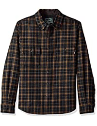 Woolrich Men's Bering Wool Modern-Fit Shirt