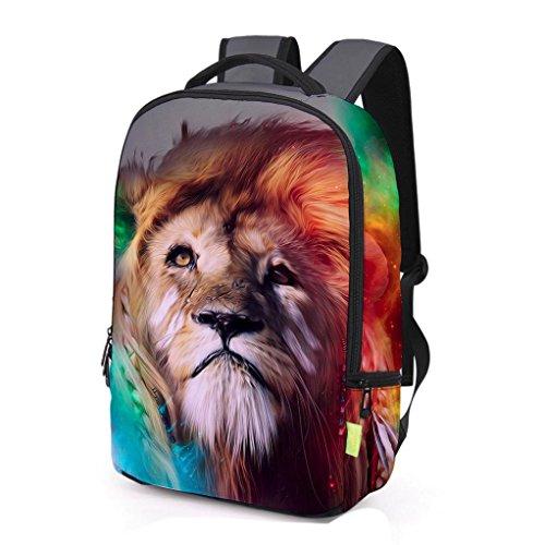 Tasche, feiXIANG 3D Galaxy Travel Tasche Rucksack Rucksack K