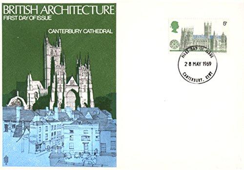 Cathédrale de Canterbury Premier Jour Coque 1969 par  Royal Mail