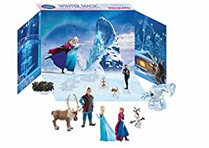 bullyland frozen advent calendar multi colour amazon. Black Bedroom Furniture Sets. Home Design Ideas