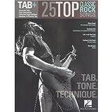 Tab +: 25chansons de rock classique–Tab. Clair. Technique. partitions de musique pour guitare Tab...