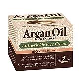 Herbolive Argan Antifaltengesichtscreme für Normale- und Mischhaut,  1er Pack (1 x 50 ml)