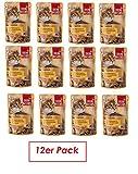 Dein Bestes Nassfutter für Katzen, Exquisit, mit Hühnchen in zartschmelzender Käsesauce, 12er Pack (12 x 85 g)