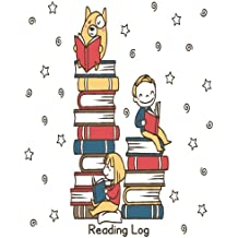 """Reading Log: Reading Journal For Book Lover Large 8x10"""" 116 Pages For Spacious Record"""