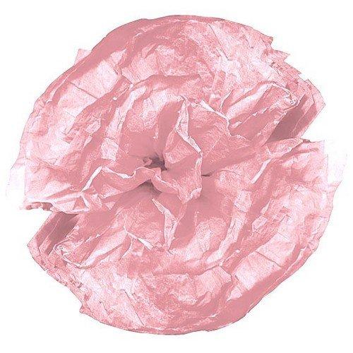 Au plaisir des yeux - 10 fleurs en papier de soie rose