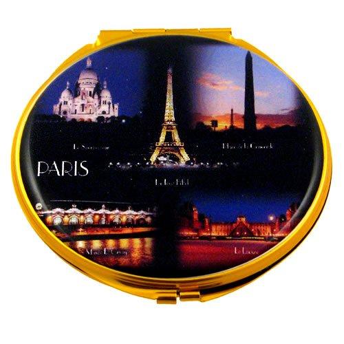 Souvenirs de France - Miroir Monuments de Paris la Nuit