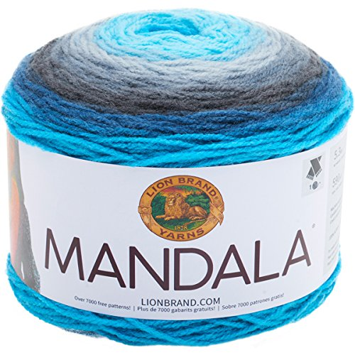 Lion Brand Yarn 525-200Mandala Garn Spirit