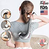 #9: Dr Trust Physio (Usa) Powerful Double Head Body Massager Electric Hammer Pro For Pain Relief