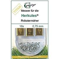 18titanio ricambio Coltello da Lame 0,75mm Herkules G Force 100015002500Hercules - Utensili elettrici da giardino - Confronta prezzi