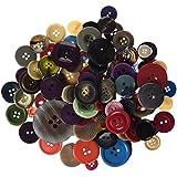 Playbox - Botones (500 g, varias formas y colores)
