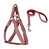 Cutepet Hundegeschirr Powergeschirr Brustgeschirr Für Aktive Hunde Hals- Und Schulterbereich Weich Gepolstert Atmungsaktives VH-82460,Red,L