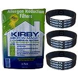Original Kirby Universal Allergen Filter - Filtertüten 6er Pack + 3 Flachriemen für alle Modelle G3 - Sentria II (204811+301291)