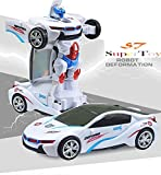 #2: SuperToy(TM) Robot to Car Converting Transformer Toy For Kids