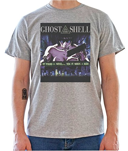 Ghost In The Shell Poster Mens T-Shirt