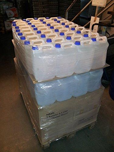 Destilliertes Wasser 25 Liter Powerpreis incl Versand 16,99 demineralisiert