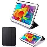 Supremery® Samsung Galaxy Tab 4 10.1 Slim Smart Cover Cuero Funda Caja Folio Bolso Caja para Bolso de alta calidad para Samsung GALAXY Tab 4 10.1 Wi-Fi LTE SM-T530N SM-T535N Funda Bolso