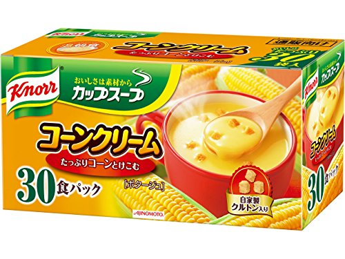 Knorr cup soup corn cream 30 packs Cream Soup Cup