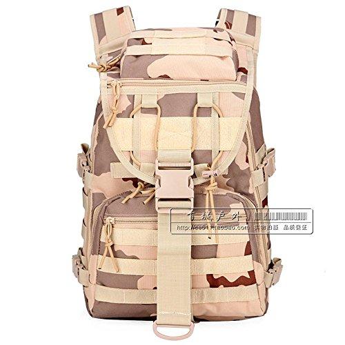 Militärische Fans Schulter Taktischen Angriff Tasche, Tarnung Computer - Tasche, Männer Und Frauen In Der Tasche - 40L Wander - Tasche Sansha camouflage