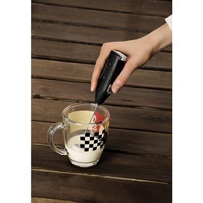 Xavax Milchkännchen zum Aufschäumen von Milchschaum, Edelstahl, silber, 400 ml