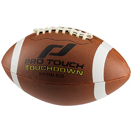 Pro Touch Touchdown American Football Ball, Braun, 9