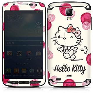 DeinDesign Samsung Galaxy S4 Active Folie Skin Sticker aus Vinyl-Folie Aufkleber Hello Kitty Merchandising Pour Supporters Fan Article Merchandise