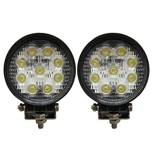 Preisvergleich Produktbild jinyjia 27W 12,7cm CREE LED Leuchte rund Arbeit Lampe