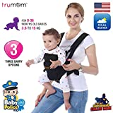 TRUMOM (USA) 3 in1 Baby Carrier for kids 0 to 36 months old ( Upto 15 Kg)