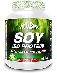 Vit-O-Best Soy Iso Proteínas, Sabor Neutro - 907 gr
