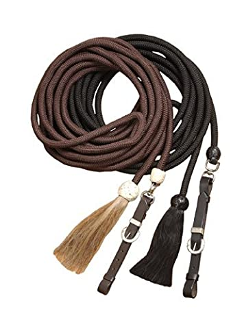 Tough 1 Royal King Braided Mecate Rope Lunge Line, Black by Tough 1
