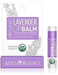 Alteya Organic Lip Balm - Moisturising Bulgarian Lavender 5 g