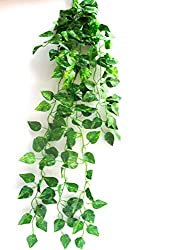 Miracle Retail Artificial Hanging Creeper Plant(Green, 90cm)