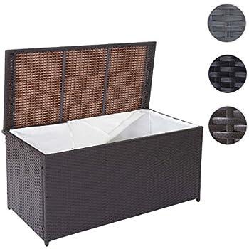 xxl rattan kissenbox 140 x 80 x 65cm schwarz eine der gr ten kissenboxen die auf dem. Black Bedroom Furniture Sets. Home Design Ideas