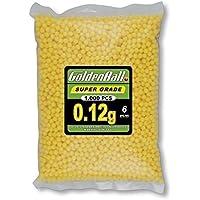 Golden Ball 35099 Bolsa con Bolitas de PVC para Armas, Amarillo, 6 mm
