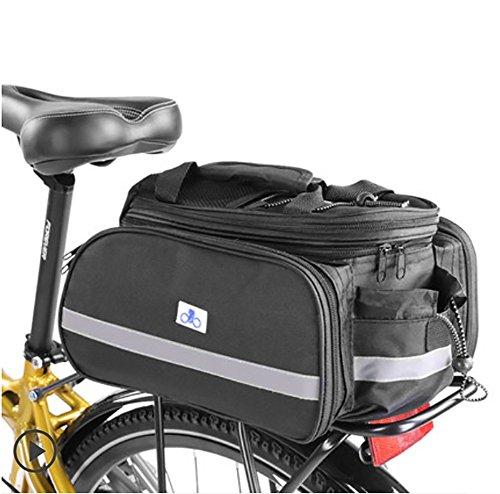 RUIX Mountainbike-Tragetasche Regal Reitausrüstung Zubehör Hecktasche Rücksitz Fahrradtasche