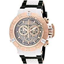 Invicta 0931 - Reloj para hombre color blanco / negro
