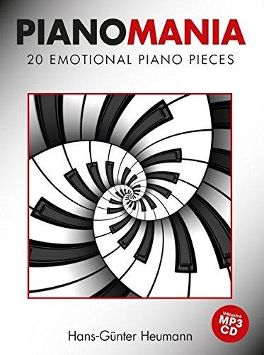 Pianomania: 20 Emotional Piano Pieces (Book & CD): Noten, Sammelband, Bundle, CD für Klavier
