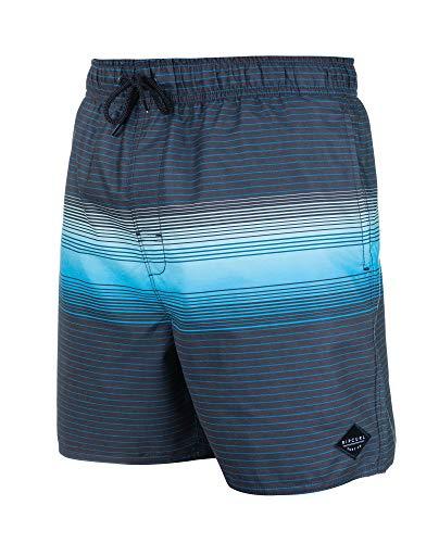 RIP CURL,Volley Gravity 16'',Hombre,Pantalón Corto de baño, pantalón, cordón, Cintura elástica,Black,L