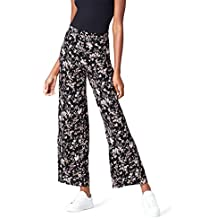 78c35a28aa Amazon.it: pantaloni fiori - Nero