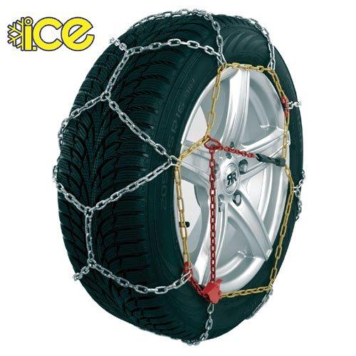 ICE KN-60-09 paire de Chaînes à Neige Métallique, 60