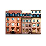 Alte Città di Varsavia - Puzzle da 1000 pezzi della Polonia, trasversale