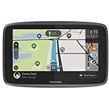TomTom GO Camper Navigatore Satellitare per Camper, Caravan, Roulotte - 6 Pollici, con Aggiornamenti Tramite Wi-Fi, PDI per Camper e Caravan, Mappe del Mondo a Vita, TomTom Road Trips