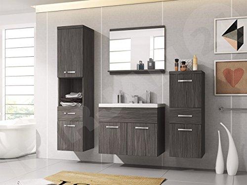 Badmobel Set Bella I Mit Waschbecken Und Siphon Modernes Badezimmer