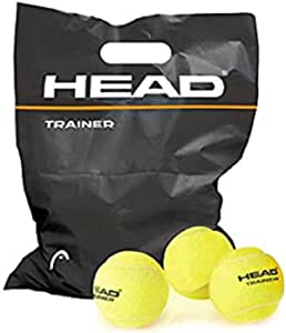 HEAD Trainer, Palline Tennis Unisex Adulto, Yellow, Taglia unica
