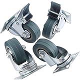 VivReal Super Deal Genie Lot de 4roulettes pivotantes, 50mm